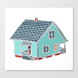 Little Porch House Canvas Print