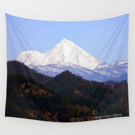 Mount Lassen... Wall Tapestry