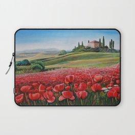 Italian Poppy Field Laptop Sleeve