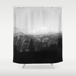 Yosemite x Glacier Point Shower Curtain