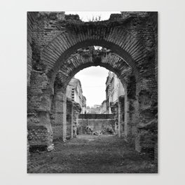 Arches of Time Canvas Print
