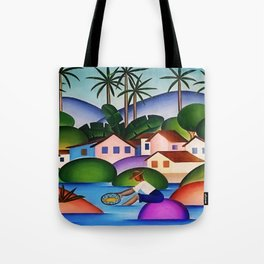 Classical Masterpiece 'An Angler' by Tarsila do Amaral Tote Bag