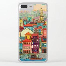 Porto Clear iPhone Case