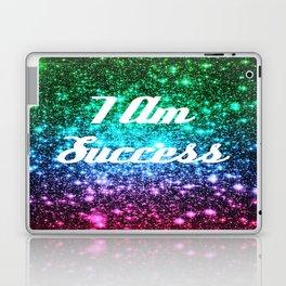 Success Affirmation Galaxy Sparkle Stars Laptop & iPad Skin