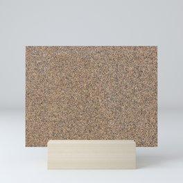 Sand Texture Mini Art Print