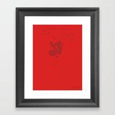 Rest My Fear Framed Art Print