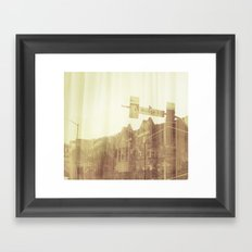 brightness Framed Art Print