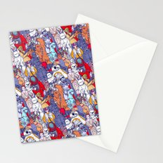Smaller Space Toons in Color Stationery Cards