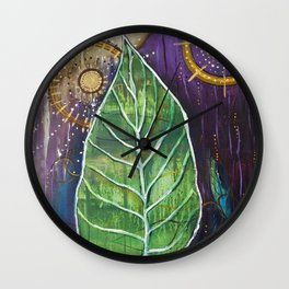 Two Suns Wall Clock