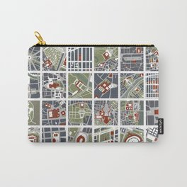 Urban fragments I of NewYork, Paris, London, Berlin, Rome and Seville Carry-All Pouch
