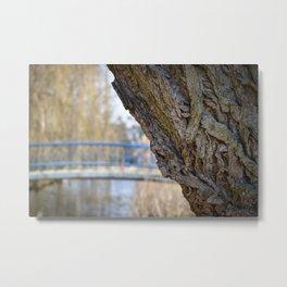 Vondelpark Detail Metal Print