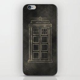 Doctor Who: Tardis iPhone Skin