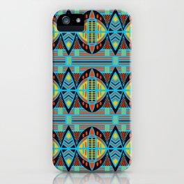 African Tribal Motif Pattern iPhone Case