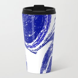 Rolling Blue Travel Mug