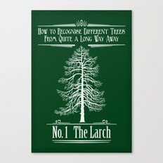 No. 1 The Larch Canvas Print