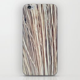 Beige Brushwood Photography iPhone Skin