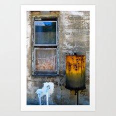 Trespassing Art Print