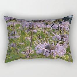 Prairie Bergamot Monarda Rectangular Pillow