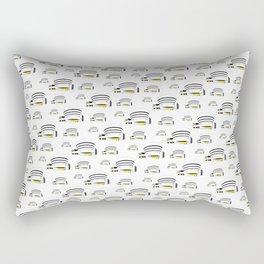 Guggenheim Museum Lloyd Wright Modern Architecture Rectangular Pillow