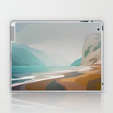 Cliffs - misty Laptop & iPad Skin