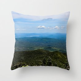 Old Speck look out Throw Pillow