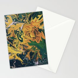 Melted Orchids Stationery Cards