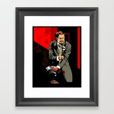 Sold to the man with the exceptional beard! Framed Art Print