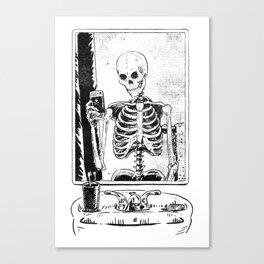 Skelfie Canvas Print