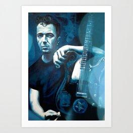 Joe Strummer of The Clash Art Print