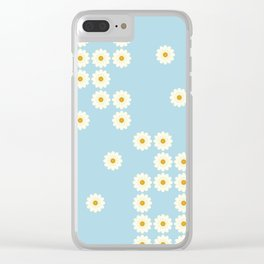 Misplaced daisies Clear iPhone Case