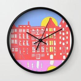 Amsterdam Midday Wall Clock