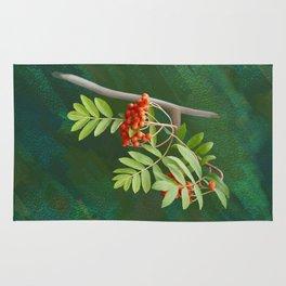 Rowan tree Rug