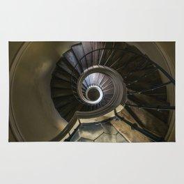 Circles and spirals Rug