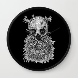 Lumbermancer B/W Wall Clock