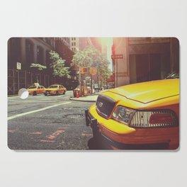 NYC Taxi Cab Cutting Board