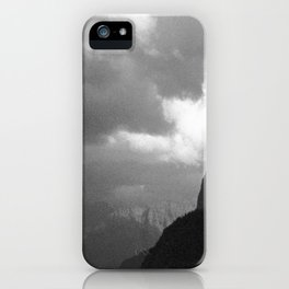 Lonely Mountains iPhone Case