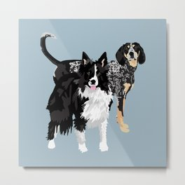 Davie and Emmi Metal Print