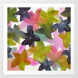 Kaleidoscope of Petals Art Print