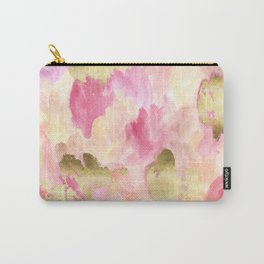 Gold Tulips Carry-All Pouch