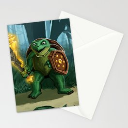 Turtle Paladin Stationery Cards