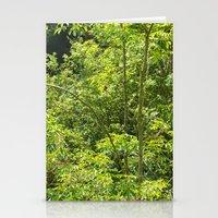 jungle Stationery Cards featuring Jungle by Mauricio Santana