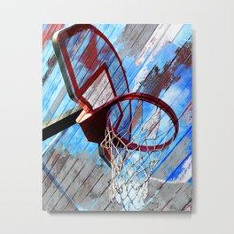 Basketball vs 83 Metal Print