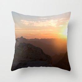 South Rim Sunrise Throw Pillow
