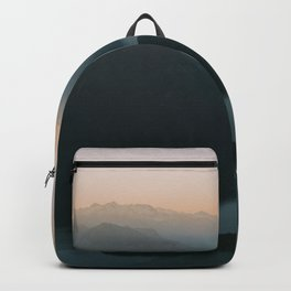 Mountains at Sunset Backpack