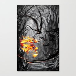 Inkmastering Canvas Print