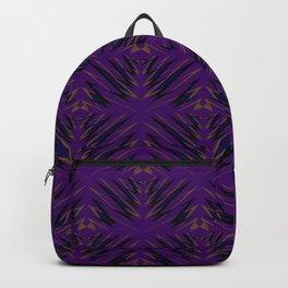 Magenta Art Deco Cap Backpack