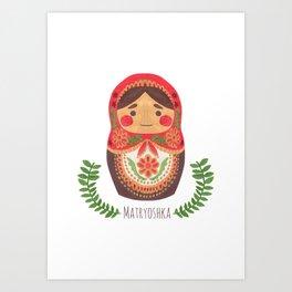 Matryoshka Doll Art Print