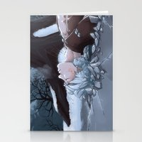 jack frost Stationery Cards featuring Jack Frost by Kiell R.