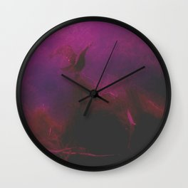 The Vulture And The Lair Wall Clock