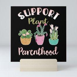 Flowers Plant Lovers Gardener Houseplant Mini Art Print